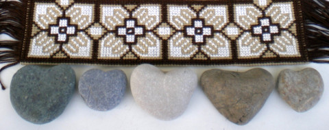 Beach stones decor ideas